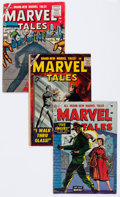Golden Age (1938-1955):Horror, Marvel Tales #131, 141, and 155 Group (Atlas, 1955-57) Condition: Average VG.... (Total: 3 Comic Books)