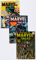 Golden Age (1938-1955):Horror, Marvel Tales Group of 4 (Atlas, 1955-56) Condition: Average VG-....(Total: 4 Comic Books)