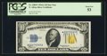 Small Size:World War II Emergency Notes, Fr. 2309* $10 1934A North Africa Silver Certificate. PCGS About New 53.. ...