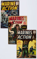 Silver Age (1956-1969):War, Marines in Action #1-14 Complete Run Group (Atlas, 1955-57) Condition: Average VG.... (Total: 14 Comic Books)