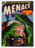 Golden Age (1938-1955):Horror, Menace #11 (Atlas, 1954) Condition: GD....
