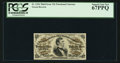 Fractional Currency:Third Issue, Fr. 1294 25¢ Third Issue PCGS Superb Gem New 67PPQ.. ...