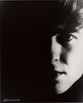 "Music Memorabilia:Photos, Beatles - Astrid Kirchherr Signed Large Format Photograph of GeorgeHarrison, ""Portrait 3"" (Hamburg, 1962)...."