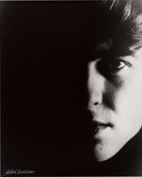 "Beatles - Astrid Kirchherr Signed Large Format Photograph of George Harrison, ""Portrait 3"" (Hamburg, 1962)"