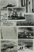 Books:Prints & Leaves, [Whales, Whaling]. Archive of Approximately 147 Photographs andImages Relating to Whales and Whaling. ...