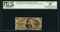 Fractional Currency:Third Issue, Fr. 1300 25¢ Third Issue PCGS Apparent Extremely Fine 45.. ...