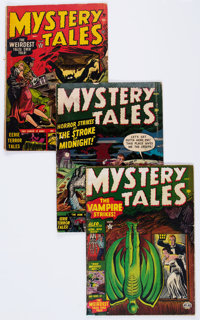 Mystery Tales #1-3 Group (Atlas, 1952) Condition: Average FR.... (Total: 3 Comic Books)