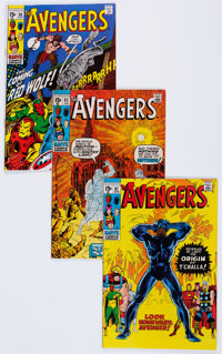 The Avengers Group of 10 (Marvel, 1970-71) Condition: Average NM-.... (Total: 10 Comic Books)