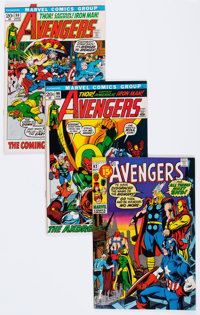 The Avengers Group of 16 (Marvel, 1971-75) Condition: Average VF/NM.... (Total: 16 Comic Books)