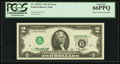 Error Notes:Inverted Third Printings, Fr. 1935-E $2 1976 Federal Reserve Note. PCGS Gem New 66PPQ.. ...