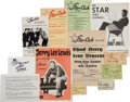 Music Memorabilia:Memorabilia, Beatles - A Collection of Star-Club Fliers, Autographs, Photos, and Ticket Stubs (Germany, 1960s)....