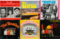 Music Memorabilia:Recordings, Rare International Beatles Albums Group of Six (East Germany, West Germany, and Australia, 1960s)....