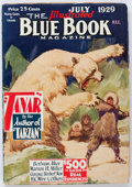 Pulps:Adventure, Blue Book - July 1929 (McCall) Condition: VG+....
