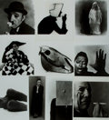 Books:Photography, [Photographers]. [Irving Penn]. Group of Ten High Quality Press Prints Depicting Works by Photographer Irving Penn. All imag...