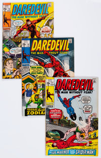 Daredevil Group of 82 (Marvel, 1971-85) Condition: Average NM-.... (Total: 81 Comic Books)