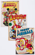 Golden Age (1938-1955):Funny Animal, Fawcett's Funny Animals Group of 15 (Fawcett, 1943-47) Condition: Average VG-.... (Total: 15 Comic Books)