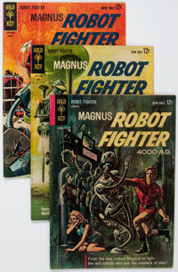 Magnus Robot Fighter #1-28 Complete Range Group of 30 (Gold Key, 1963-69) Condition: Average VF-.... (Total: 30 Comic Bo...
