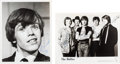 Music Memorabilia:Autographs and Signed Items, Hollies/Herman's Hermits - Set Of Two Signed Promo Photos(1960s)....