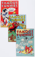 Golden Age (1938-1955):Miscellaneous, Famous Funnies Group of 11 (Eastern Color, 1944-52) Condition: Average VG+.... (Total: 11 Comic Books)