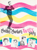Music Memorabilia:Autographs and Signed Items, Chubby Checker & Others Signed Twist Party Tour Program(1962)....