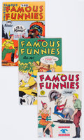 Golden Age (1938-1955):Miscellaneous, Famous Funnies Group of 6 (Eastern Color, 1945-52) Condition: Average VF-.... (Total: 6 Comic Books)