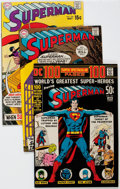 Silver Age (1956-1969):Superhero, Superman Group of 40 (DC, 1970-75) Condition: Average VF.... (Total: 40 Comic Books)