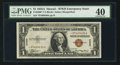 Small Size:World War II Emergency Notes, Fr. 2300* $1 1935A Hawaii Silver Certificate. PMG Extremely Fine 40.. ...