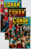 Bronze Age (1970-1979):Adventure, Conan the Barbarian Group of 10 (Marvel, 1970-72) Condition: Average FN/VF.... (Total: 10 Comic Books)