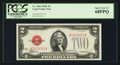 Small Size:Legal Tender Notes, Fr. 1504 $2 1928C Legal Tender Note. PCGS Superb Gem New 68PPQ.. ...