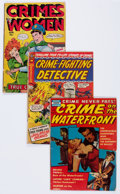 Golden Age (1938-1955):Crime, Golden Age Crime Group of 15 (Various Publishers, 1940s-50s).... (Total: 15 Comic Books)