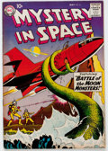 Silver Age (1956-1969):Science Fiction, Mystery in Space #51 (DC, 1959) Condition: VF....