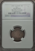Early Dimes, 1797 10C 13 Stars, JR-2, R.4 -- Reverse Rim Damage -- NGC Details.VG....