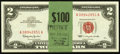 Small Size:Legal Tender Notes, Fr. 1513 $2 1963 Legal Tender Notes. Fifty Consecutive Examples.. ... (Total: 50 notes)