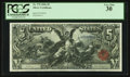 Large Size:Silver Certificates, Fr. 270 $5 1896 Silver Certificate PCGS Very Fine 30.. ...