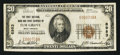 National Bank Notes:West Virginia, Elm Grove, WV - $20 1929 Ty. 1 The First NB & TC Ch. # 8983....