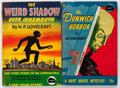 Memorabilia:Miscellaneous, H. P. Lovecraft Vintage Paperbacks Group of 2 (Bartholomew House, 1944-45) Condition: Average FN.... (Total: 2 Items)