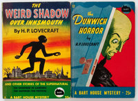 H. P. Lovecraft Vintage Paperbacks Group of 2 (Bartholomew House, 1944-45) Condition: Average FN.... (Total: 2 Items)