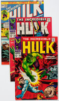 Silver Age (1956-1969):Superhero, The Incredible Hulk Group of 43 (Marvel, 1968-75) Condition: Average VF.... (Total: 43 Comic Books)