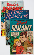 Golden Age (1938-1955):Romance, Golden Age Pre-Code Romance Group of 4 (Various Publishers, 1950s) Condition: Average FN.... (Total: 4 Comic Books)