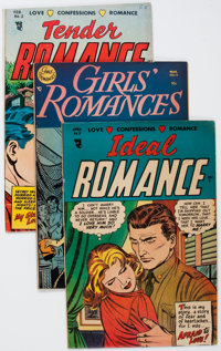 Golden Age Pre-Code Romance Group of 4 (Various Publishers, 1950s) Condition: Average FN.... (Total: 4 Comic Books)