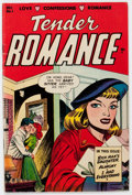 Golden Age (1938-1955):Romance, Tender Romance #1 (Key Publications, 1953) Condition: VG/FN....