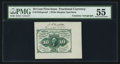 Fractional Currency:First Issue, Fr. 1243SP 10¢ First Issue Courtesy Autograph PMG AboutUncirculated 55.. ...