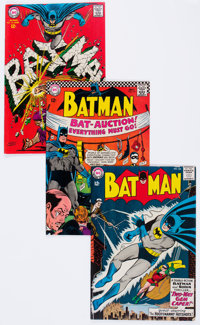 Batman Group of 6 (DC, 1964-69) Condition: Average FN/VF.... (Total: 6 Comic Books)