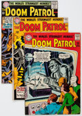 Silver Age (1956-1969):Superhero, Doom Patrol Group of 29 (DC, 1964-68) Condition: Average VG except as noted.... (Total: 29 Comic Books)