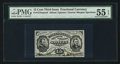 Fractional Currency:Third Issue, Fr. 1275-SP 15¢ Third Issue Narrow Margin Face PMG About Uncirculated 55 EPQ.. ...
