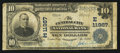 National Bank Notes:Pennsylvania, Central City, PA - $10 1902 Plain Back Fr. 633 The Central City NBCh. # (E)11967. ...