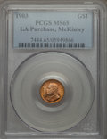 Commemorative Gold, 1903 G$1 Louisiana Purchase, McKinley, MS65 PCGS....