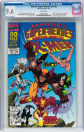 Modern Age (1980-Present):Superhero, Marvel Super-Heroes V2#8 (Marvel, 1992) CGC NM+ 9.6 White pages....