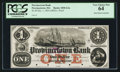 Obsoletes By State:Massachusetts, Provincetown, MA- Provincetown Bank $1 Dec. 1, 1854 . ...