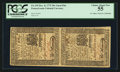 Colonial Notes:Pennsylvania, Pennsylvania December 8, 1775 30s Uncut Vertical Pair PCGS ChoiceAbout New 55.. ...
